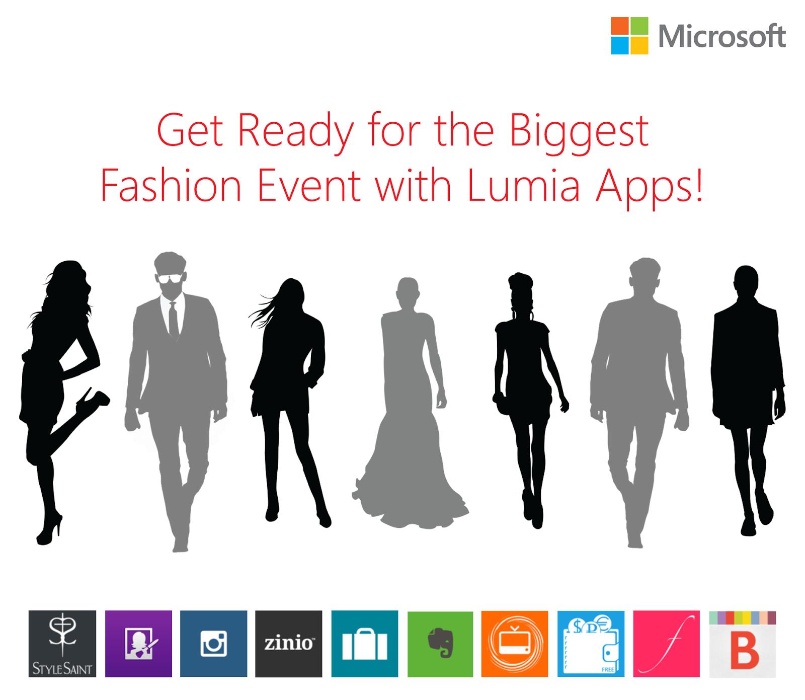 Lumia Fashion Apps