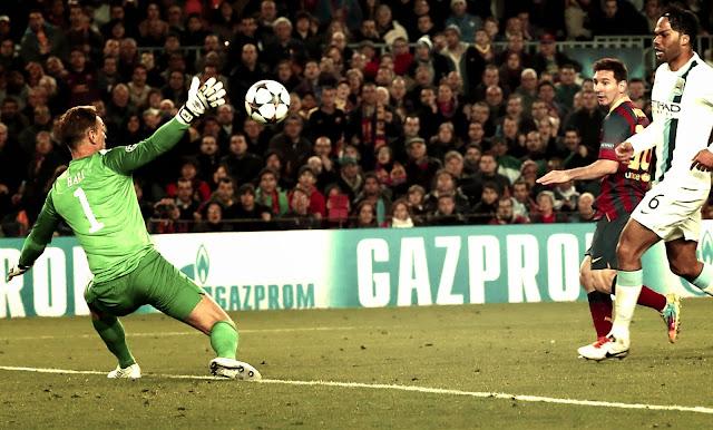 Lionel Messi brilliant Goal against Manchester City