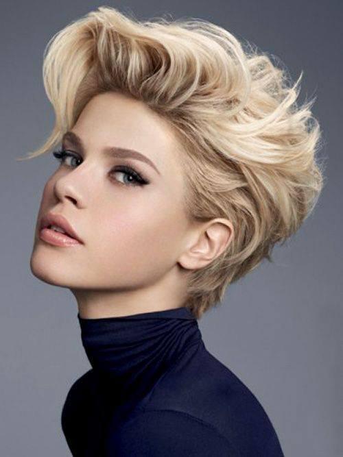 Wwwwlosyes Katalog Modnych Fryzur Krótkie Blond Włosy Z Dłuższą