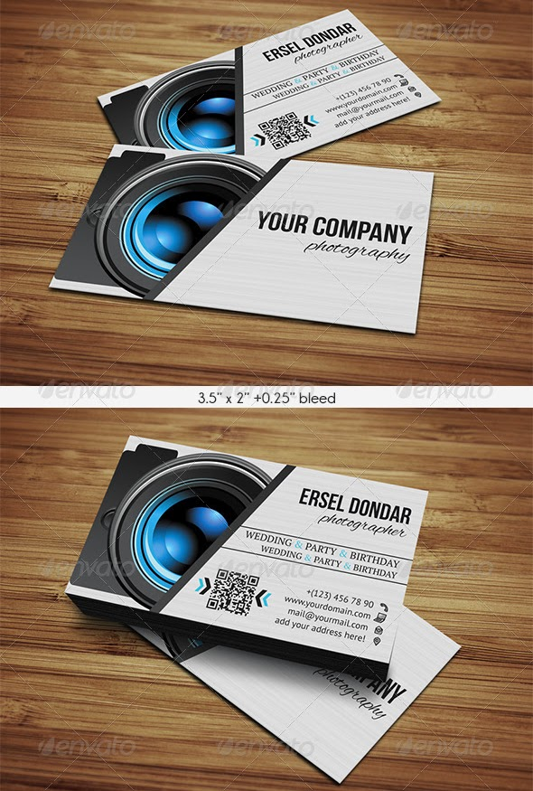 Top 10 Photographer Business Card Print Templates | Top 10 Graphics