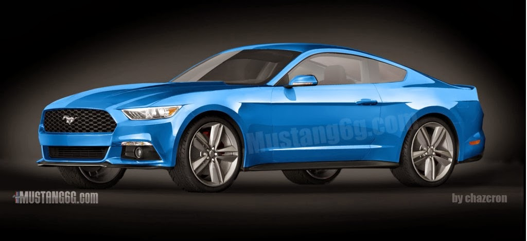 Final 2015 Ford Mustang Design Revealed