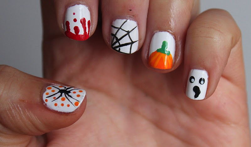 Easy Halloween Nail Art Ideas A Little Obsessed
