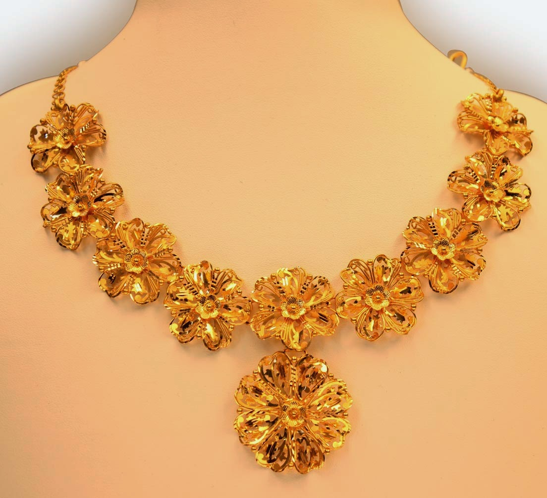 Kerala Jewellery Necklace Models