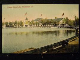CINCINNATI POSTCARDS: Chester Park Lake