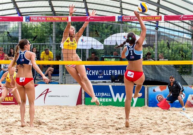 Următoarele evenimente sportive la care voi fi maseur. CEV Beach Volleyball Satellite Timisoara şi Runsilvania WILD RACE