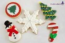Curso galletas fondant Madrid - Navidad