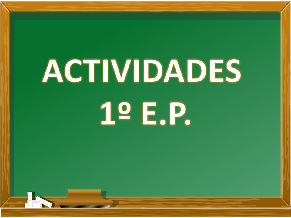 Actividades 1º