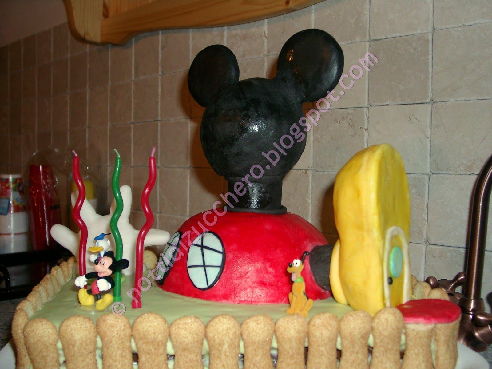 Notti di zucchero la casa topolino per il mio piccolo