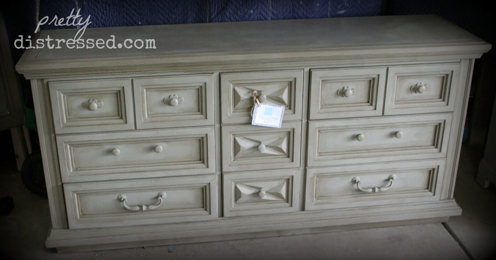 french distressed furniture. Annie Sloan French Linen, Clear Wax, Dark Wax Distressed Furniture