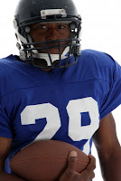 photo of a football player