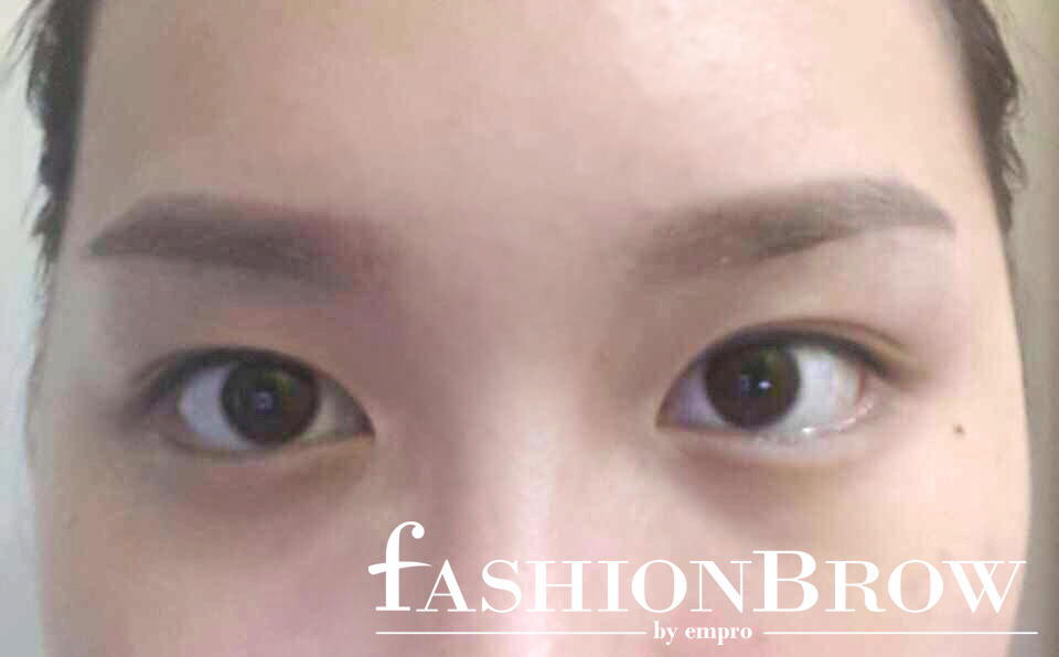 Isabel lee malaysian beauty lifestyle blogger empro for 1 salon eyebrow embroidery