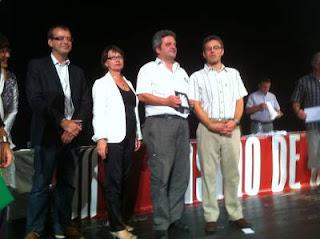 Andrei Istratescu lors de la remise des Prix au Casino de Dieppe © Chess & Strategy