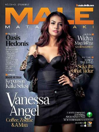 MALE Edisi 034 - Vanessa Angel