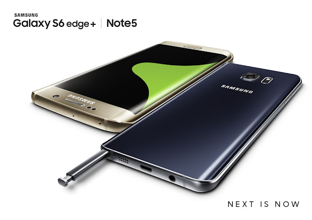 Samsung Galaxy Note5, Galaxy S6 edge+ now available for pre-order