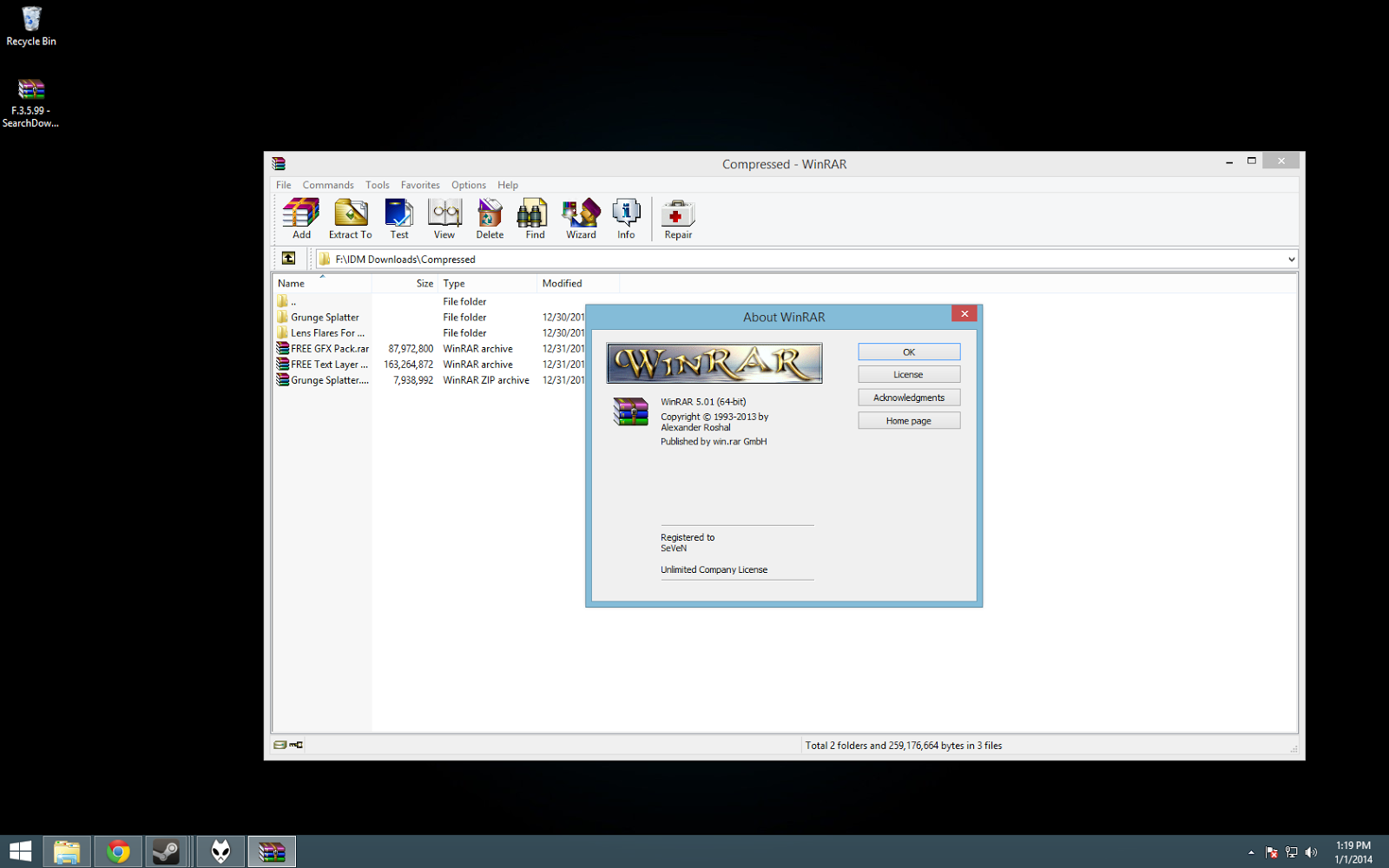 bit download winrar version full 64 5.5