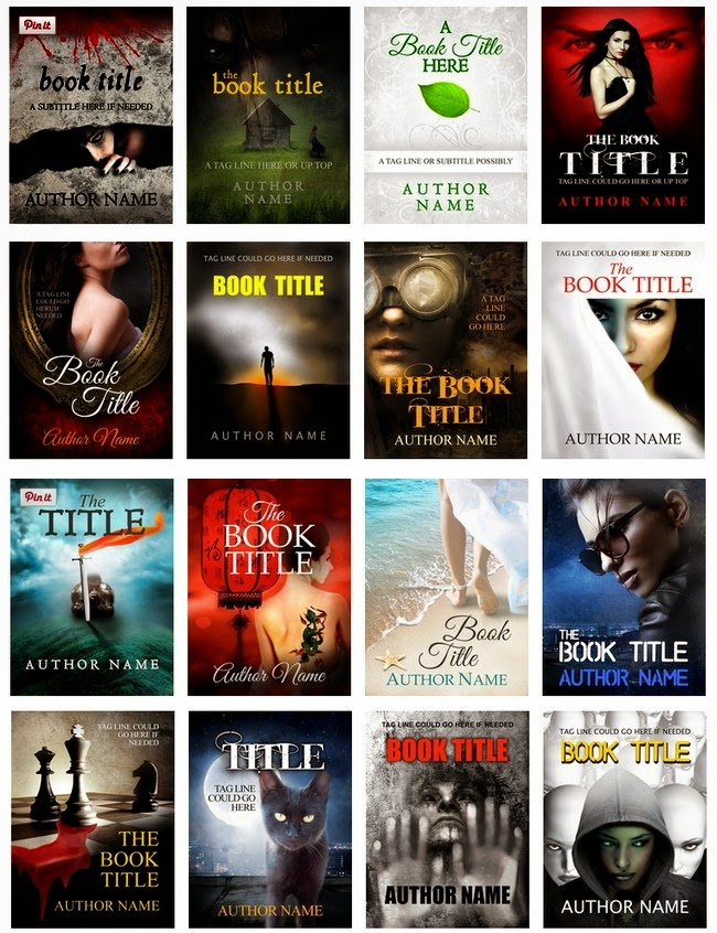 ccr pre-designed premade book covers