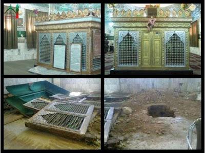 Pembongkaran Makam Sahabat Hujr bin Adi di Suriah