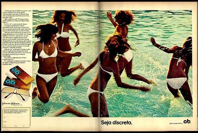 propaganda OB - 1977.década de 70. os anos 70; propaganda na década de 70; Brazil in the 70s, história anos 70; Oswaldo Hernandez;
