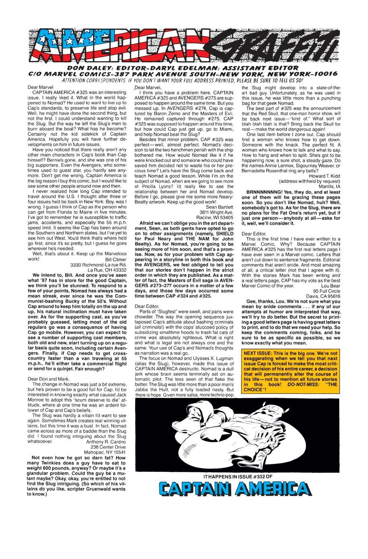 Captain America (1968) Issue #331 #260 - English 24
