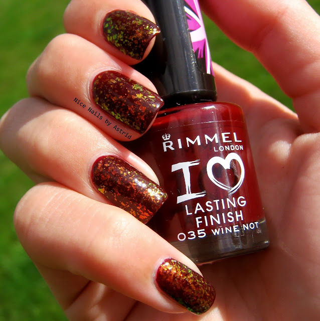 GOSH, Rainbow over Rimmel, Wine Not, Nice Nails By Astrid