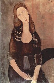 Retrato de Jeanne Hébuterne, de Amedeo Modigliani