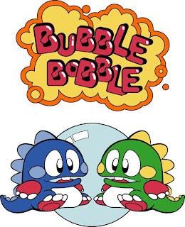 Bubble Bobble pc game cover flyer