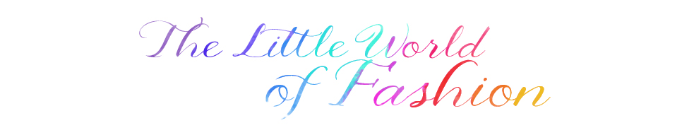 The little world of fashion : blog mode, looks et tendances d'une fashion addict