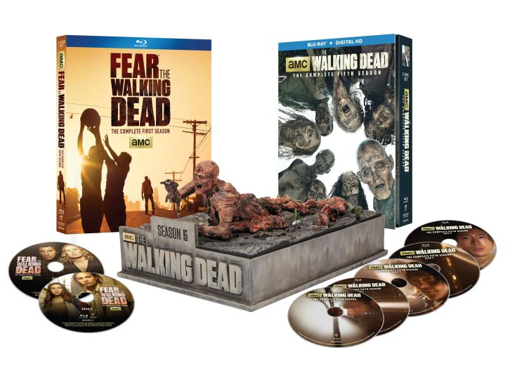 COMPLETED: Enter our The Walking Dead and Fear The Walking Dead - Blu-Ray Giveaway
