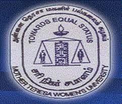 Mother Teresa Women's University Results 2015