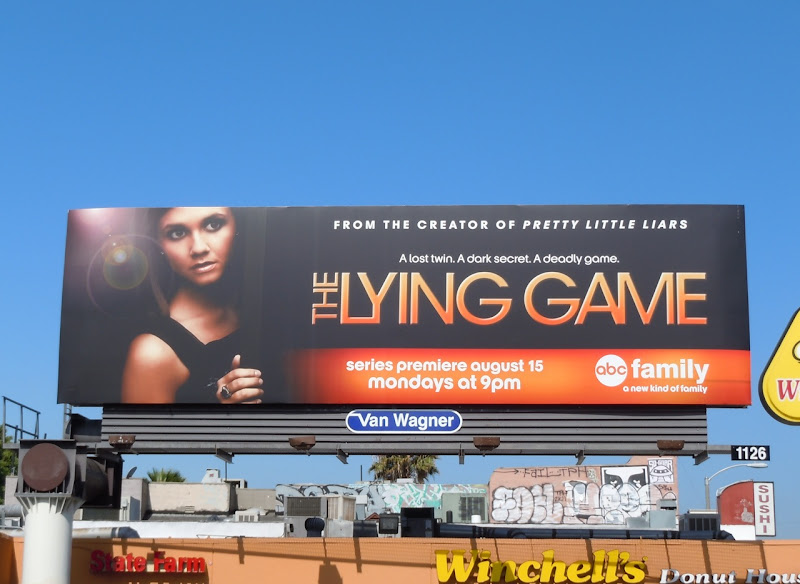 The Lying Game ABC Family billboard
