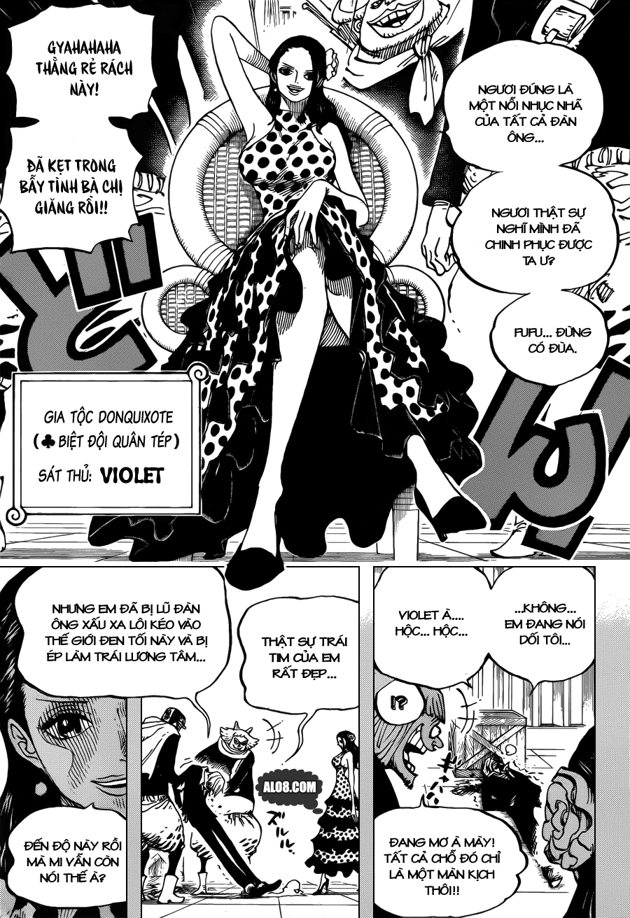 One Piece Chapter 712: Violet 003