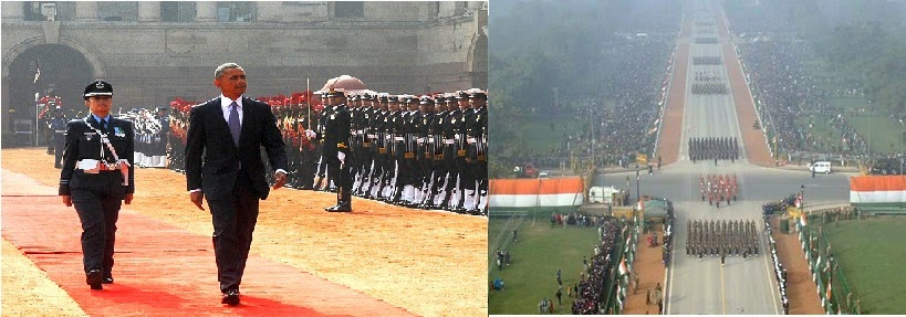 Barack Hussein Obama in India for Republic Day Parade