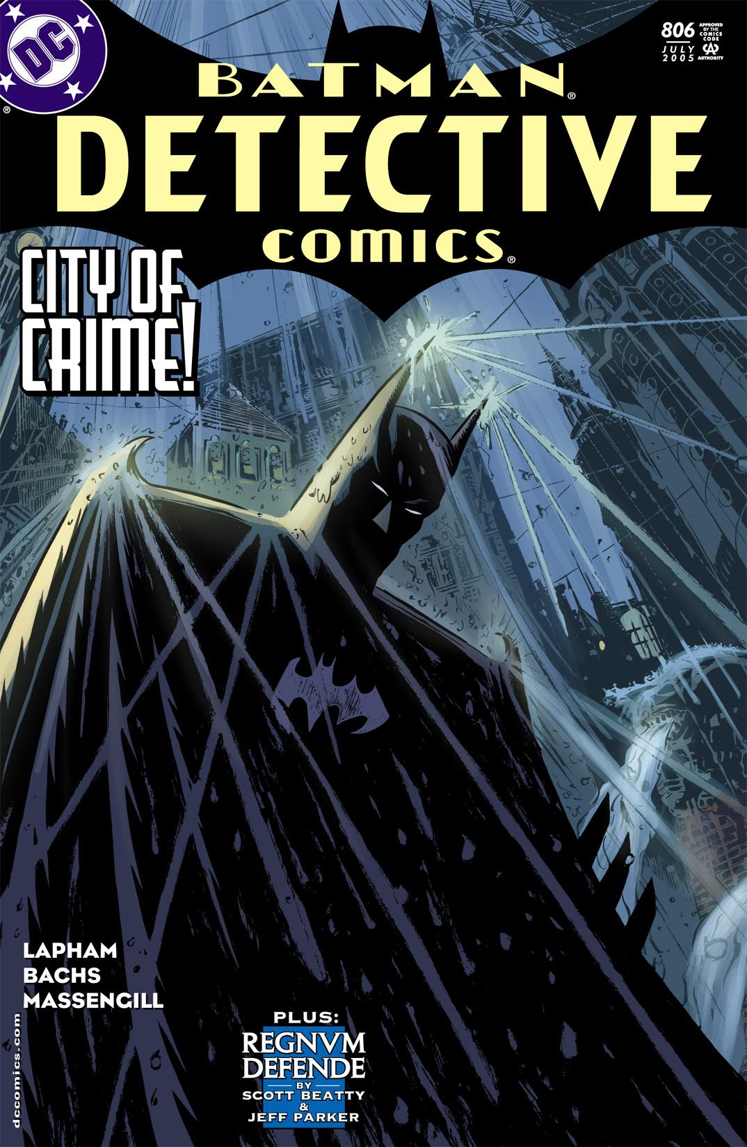 Detective Comics (1937) 806 Page 1