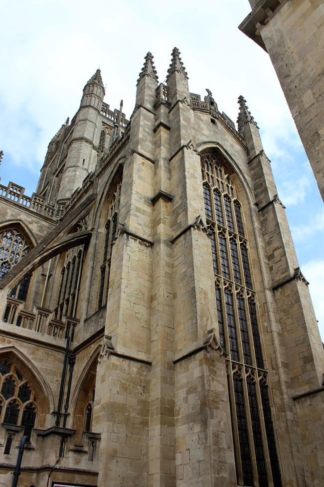 old church, old abbey, bath abbey, city of bath, todaymyway.com