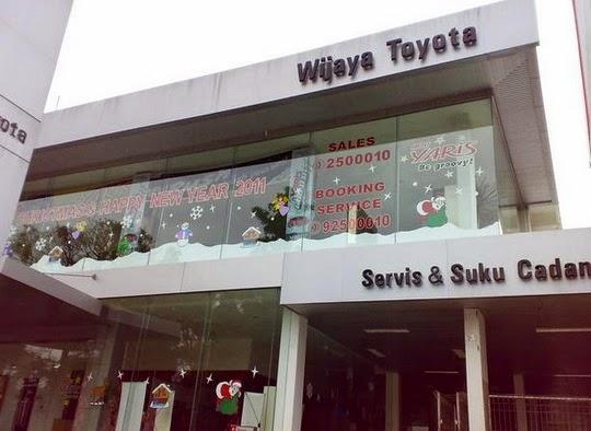 Dealer Mobil Wijaya Toyota Dago, Bandung
