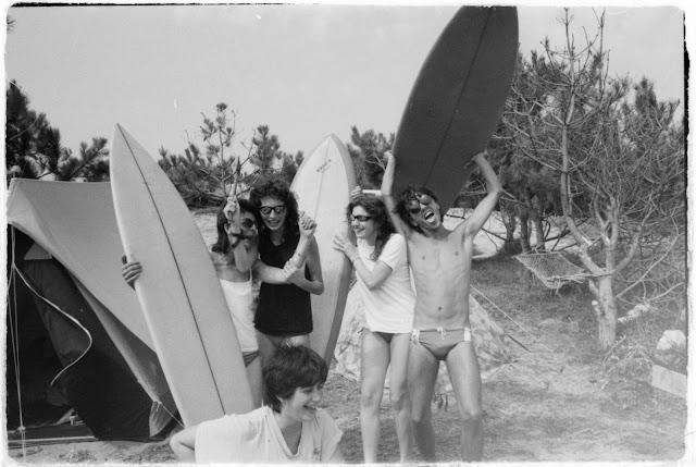 Foto Archivo Luis Bericua Surfers Gallegos