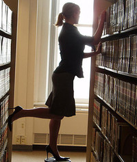 vyhýbavec a knihy