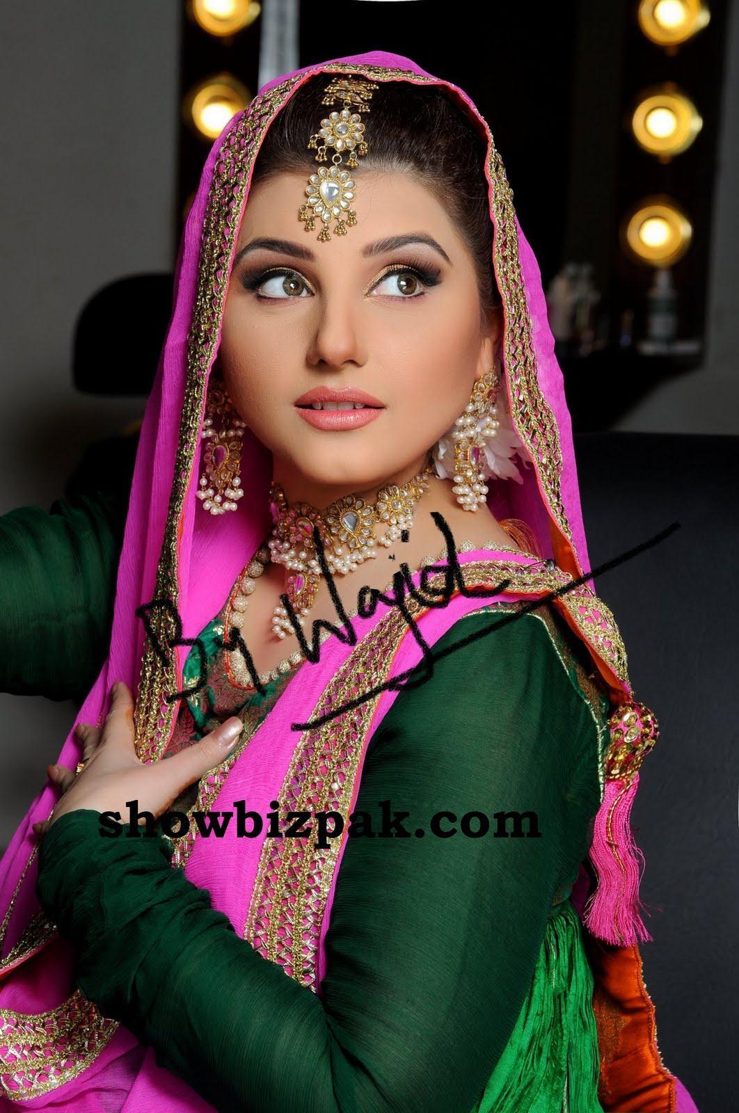 Javeria Saud Bridal Shoot 2011