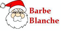 Le Père Noël à Strasbourg - Barbe Blanche