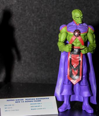 DC Collectibles New 52 Martian Manhunter figure
