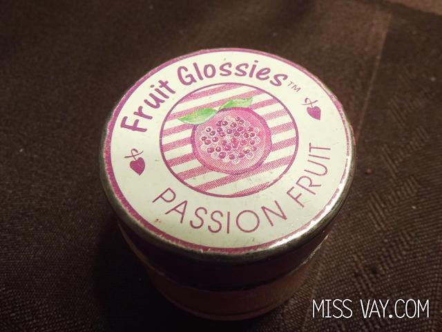 Brillant à lèvres Fruit Glossies Passion Fruit