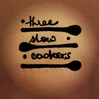 Three Slow Cookers