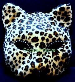 Máscara Cat Mache Oncinha