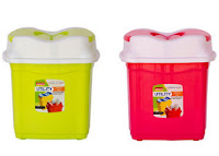 Buy Combo Aristo Utility Dust Bin 5 Litres Pink at Rs 109 Via Pepperfry :buytoearn