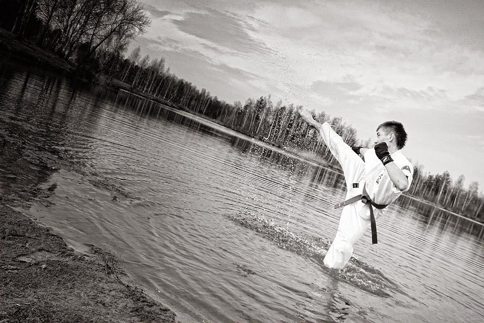 Nowogród Bobrzański, karate, egzamin 3 kyu