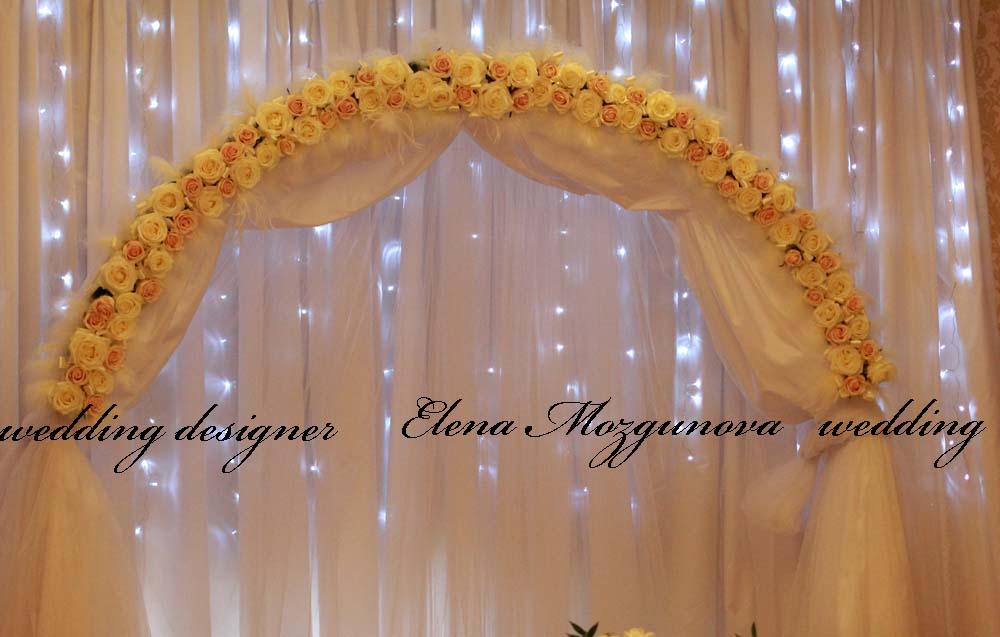 Оформление ширм на свадьбу