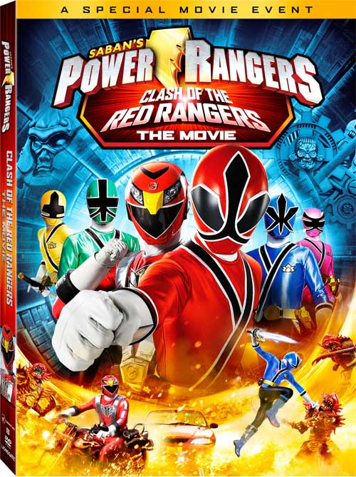 Free Download Movies: Power Rangers Samurai Clash of the Red Rangers