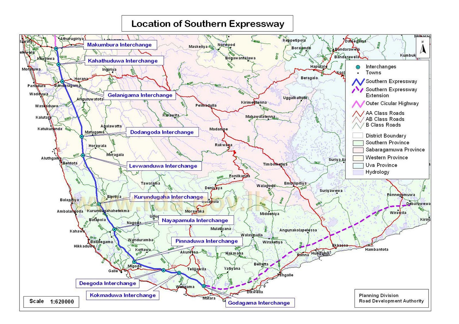 Road Pricing Sri Lankas First Toll Road About To Open But - Portugal motorway map