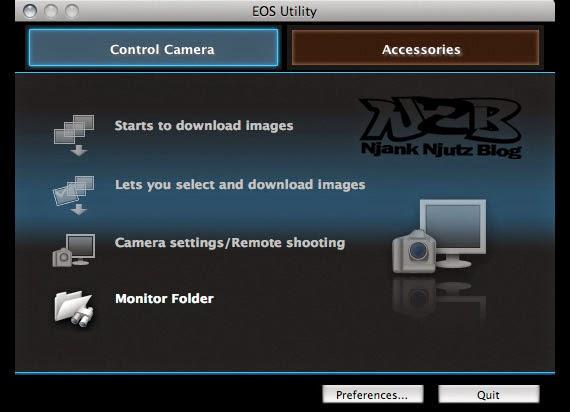 Cara Download dan Install Canon EOS Utility tanpa CD