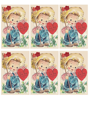 It's just a graphic of Versatile Free Printable Vintage Valentine Cards